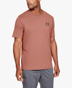 Men's UA Sportstyle Left Chest Logo T-Shirt