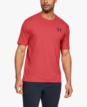 Camiseta UA Sportstyle Left Chest Masculina