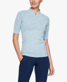 Women's UA Seamless Zip Polo