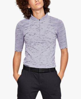 Polo zippé UA Seamless pour femme
