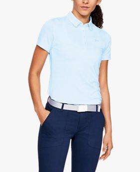 UA Zinger Short Sleeve Polo untuk Wanita
