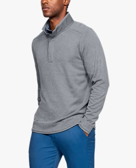Men's UA Storm SweaterFleece Crestable Snap Mock
