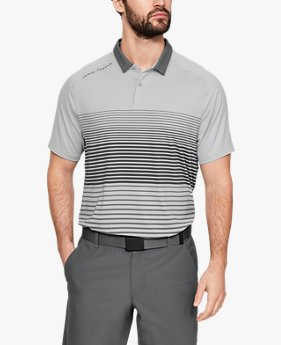 Playera Polo UA Iso-Chill Power Play para Hombre