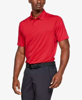 Polo UA Crestable Performance para hombre