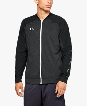Men's UA Knit Warm-Up Jacket