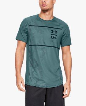 UA MK-1ショートスリーブプリント(トレーニング/Tシャツ/MEN)