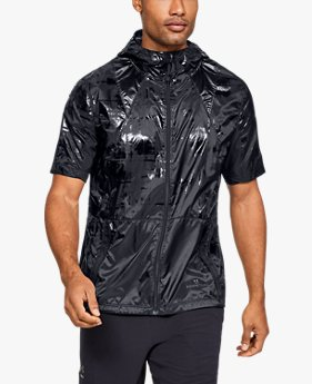 Men's UA Perpetual Short Sleeve Windbreaker