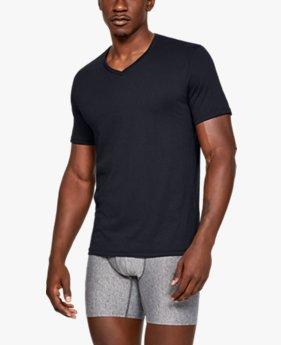 남성 Charged Cotton® V넥 언더셔츠 – 2팩