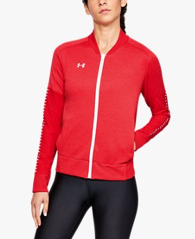 Women's UA Knit Warm-Up Jacket