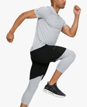 Men's UA RUSH™ ¾ Leggings