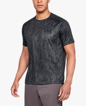 Men's UA Tech™ 2.0 Printed Short Sleeve