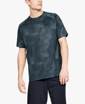 Camiseta de Treino Masculina Under Armour Tech™ Printed