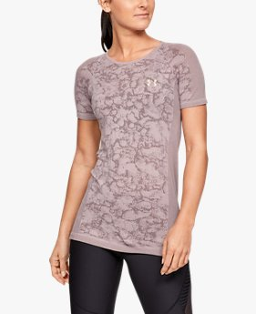 Women's UA Vanish Seamless Mesh Short Sleeve