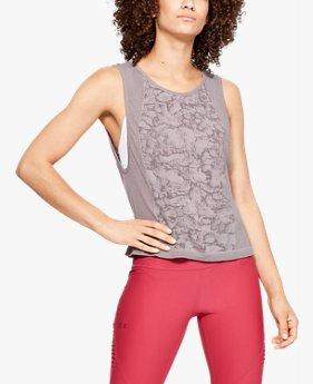 Women's UA Vanish Seamless Mesh Muscle Tank