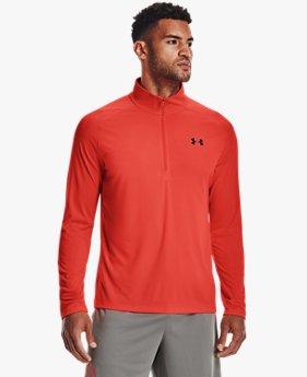 Men's UA Tech™ 2.0 ½ Zip Long Sleeve