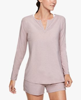 Women's UA RECOVER™ Sleepwear Long Sleeve