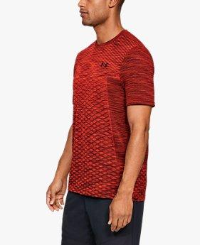 Kaus Lengan Pendek UA Vanish Seamless untuk Pria