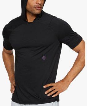 Men's UA RUSH™ Short Sleeve Hoodie