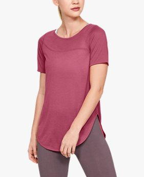 Women's UA Whisperlight Asymmetrical Short Sleeve