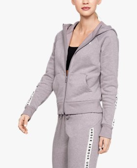 Women's UA Taped Fleece Full Zip