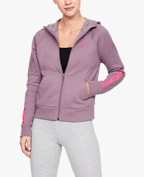 Women's UA Taped Fleece Full-Zip