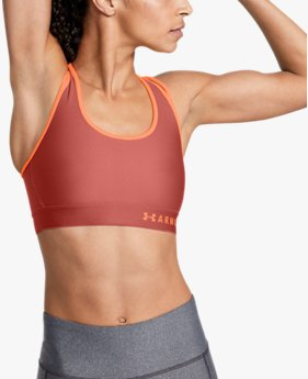 Women's Armour® Mid Crossback Strappy Sports Bra