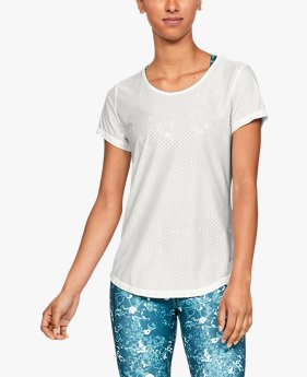 Women's UA Armour Sport Short Sleeve Eyelet