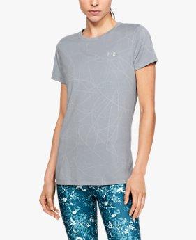 UAショートスリーブ クルー ディフェンステック ジャカード(トレーニング/Tシャツ/WOMEN)