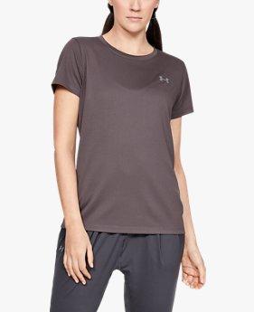 UAテック ショートスリーブ クルーネック ノベルティ(トレーニング/Tシャツ/WOMEN)
