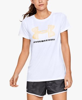 Women's UA Tech™ Short Sleeve Graphic