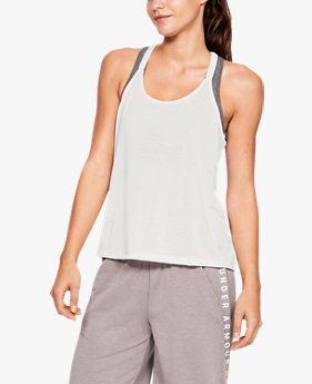 Women's UA Whisperlight Tank Foldover