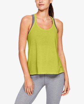 c540c389a859e Camiseta sin mangas UA Whisperlight Foldover para mujer