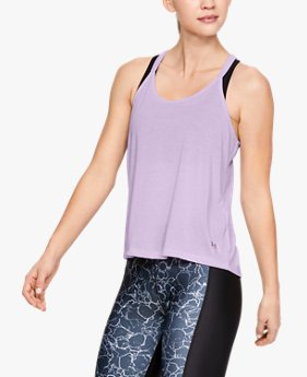 Women's UA Whisperlight Foldover Tank
