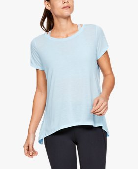 Women's UA Whisperlight Short Sleeve Foldover