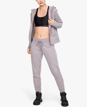 Women's UA Taped Fleece Pants
