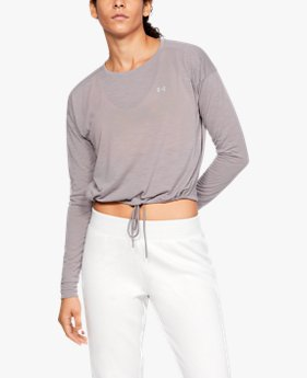 Women's UA Whisperlight Crop Cover Up
