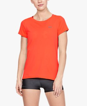 Camiseta HeatGear® Armour Feminina
