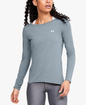 Women's HeatGear® Armour Long Sleeve