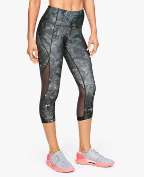 Women's HeatGear® Armour Capri Print