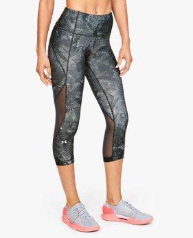 HeatGear® Armour Capri Print untuk Wanita