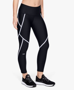 Leggings tobilleros HeatGear® Armour Edgelit para mujer