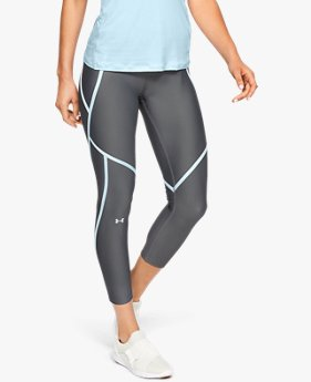 Calça Crop de Treino Feminina Under Armour HeatGear® Armour Edgelit