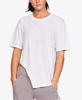 Women's UA Do Work Asymmetrical Short Sleeve