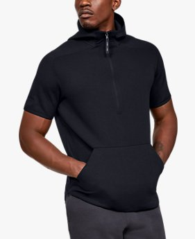 Men's UA Move Light ½ Zip Short Sleeve Hoodie