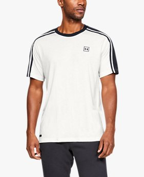 Men's UA Unstoppable Striped Short Sleeve T-Shirt