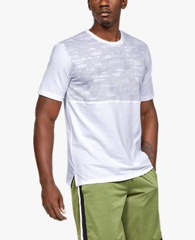 Men's UA Sportstyle Cotton Mesh T-Shirt