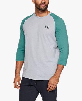 Camiseta UA Sportstyle Left Chest ¾ Masculina