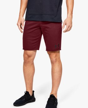 Herren UA Sportstyle Shorts aus French-Terry-Stoff