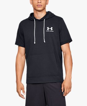 Men's UA Sportstyle Terry Short Sleeve Hoodie