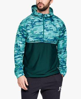 Men's UA Sportstyle Woven ½ Zip